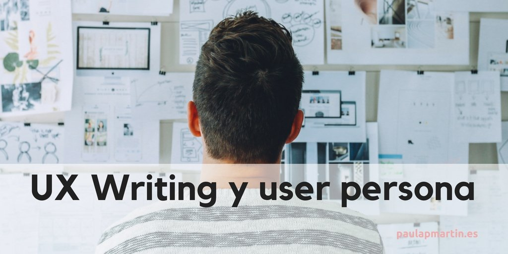 UX Writing y user persona