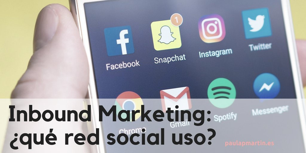 Inbound Marketing: ¿qué red social uso? Caso práctico