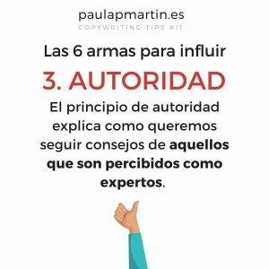 autoridad los seis principios de la persuasión paulapmartin copywriting