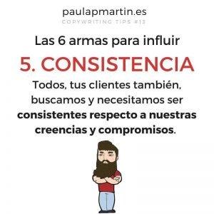 consistencia los seis principios de la persuasión paulapmartin copywriting